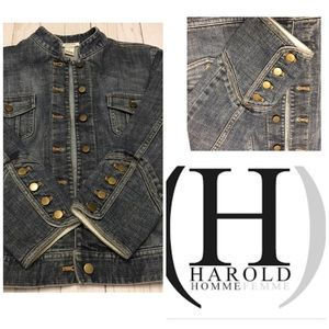 🌺 Harold's Jean Jacket